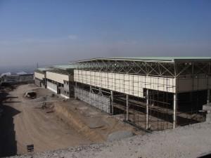 عکس های مربوط به ساخت سوله در شرکت جابون