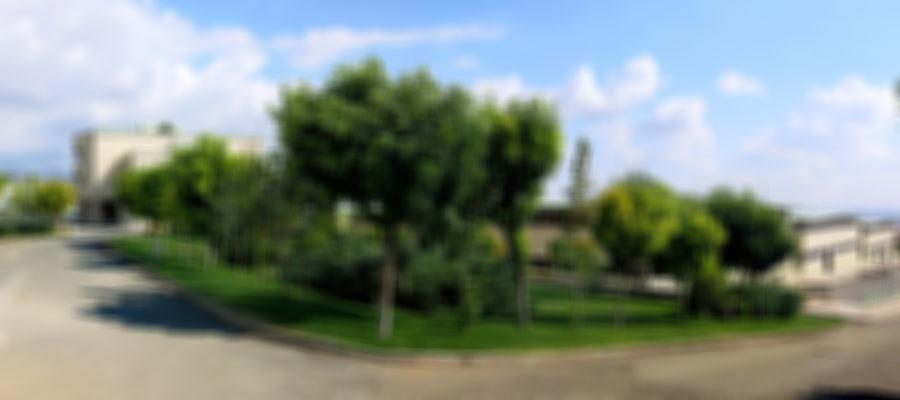 عکس پانوراما از محوطه بیرونی شرکت جابون