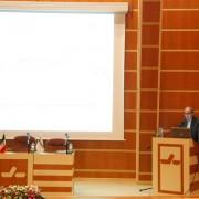 برگزاری سمینار در سالن آمفی تئاتر شرکت جابون